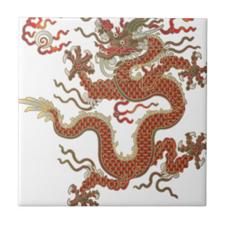 Oriental Dragon Ceramic Tile