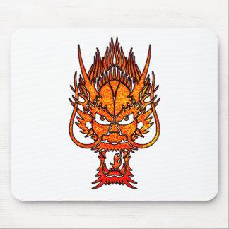 Oriental Dragon Mouse Pad