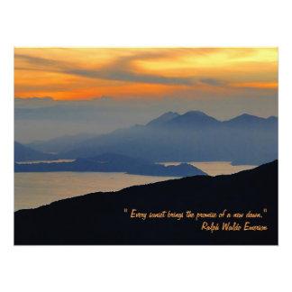 Oriental Evening Mist Poster Print Photograph