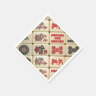 Oriental expression disposable serviette