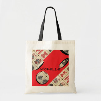 Oriental expression tote bag