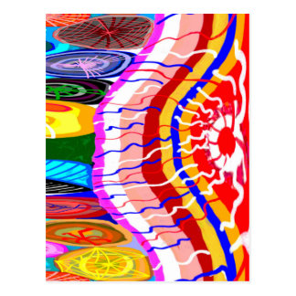 Oriental Festive Decorations Postcard