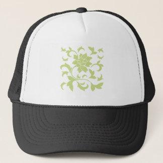 Oriental Flower - Daiquiri Green Trucker Hat