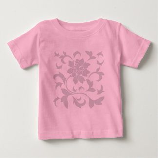 Oriental Flower-Gray Baby T-Shirt