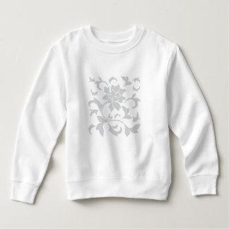 Oriental Flower-Gray Sweatshirt