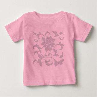 Oriental Flower-Grey Baby T-Shirt