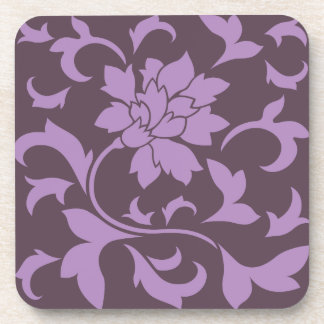 Oriental Flower - Lilac & Cherry Chocolate Coaster