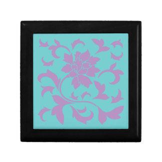 Oriental Flower - Lilac Mint Gift Box