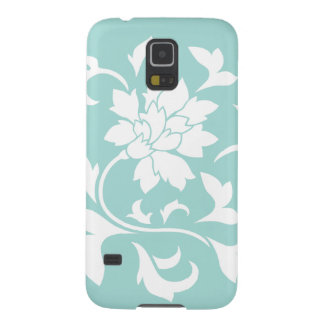 Oriental Flower - Limpet Shell Cases For Galaxy S5