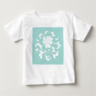 Oriental Flower - Limpet Shell Circular Pattern Baby T-Shirt
