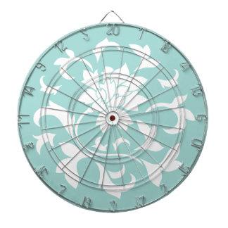 Oriental Flower - Limpet Shell Circular Pattern Dartboard