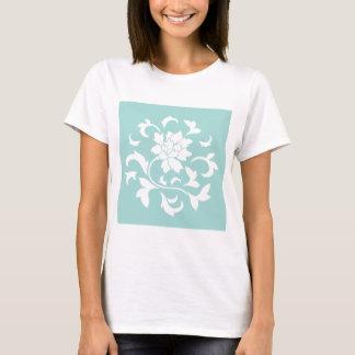 Oriental Flower - Limpet Shell Circular Pattern T-Shirt