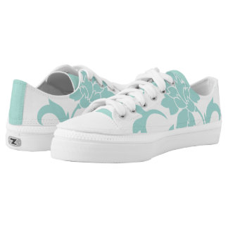 Oriental Flower-Limpet Shell Low Tops