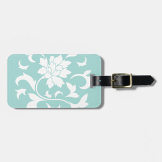 Oriental Flower - Limpet Shell Luggage Tag