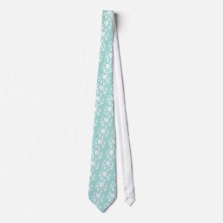 Oriental Flower - Limpet Shell Tie