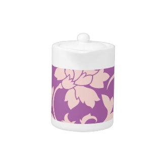 Oriental Flower - Rose Quartz & Radiant Orchid