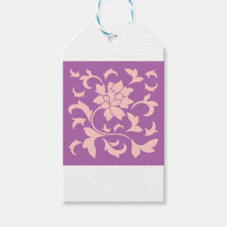 Oriental Flower - Rose Quartz & Radiant Orchid Gift Tags