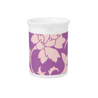 Oriental Flower - Rose Quartz & Radiant Orchid Pitcher