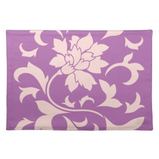 Oriental Flower - Rose Quartz & Radiant Orchid Placemat