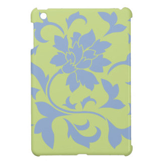 Oriental Flower - Serenity Blue & Daiquiri Green iPad Mini Covers