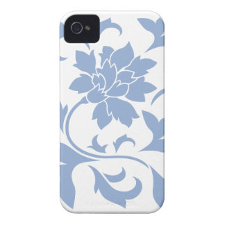 Oriental Flower - Serenity Blue iPhone 4 Cover