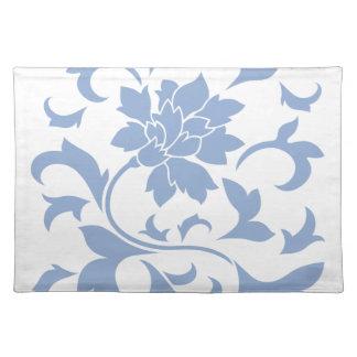 Oriental Flower - Serenity Blue Placemat