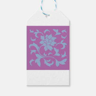 Oriental Flower - Serenity Blue & Radiant Orchid