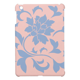 Oriental Flower - Serenity Blue & Rose Quartz Cover For The iPad Mini