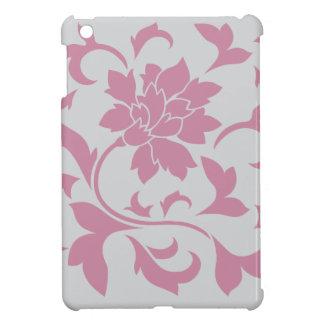 Oriental Flower - Silver Strawberry iPad Mini Cover