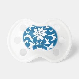 Oriental Flower - Snorkel Blue Circular Pattern Dummy