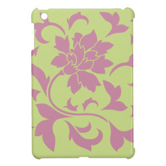 Oriental Flower - Strawberry & Daiquiri Green Lime iPad Mini Case