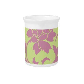 Oriental Flower - Strawberry & Daiquiri Green Lime Pitcher