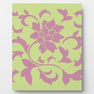 Oriental Flower - Strawberry & Daiquiri Green Lime Plaque