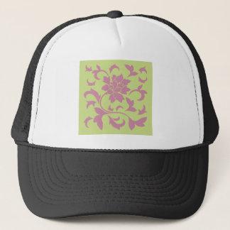 Oriental Flower - Strawberry & Daiquiri Green Lime Trucker Hat