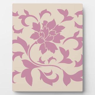 Oriental Flower - Strawberry Latte Plaque