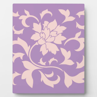 Oriental Flower - Strawberry Lilac Plaque