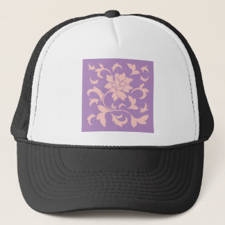 Oriental Flower - Strawberry Lilac Trucker Hat