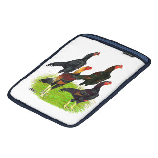 Oriental Game Fowl Quartet iPad Sleeve