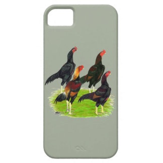 Oriental Game Fowl Quartet iPhone 5 Covers