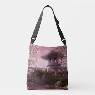 Oriental Garden Cross Body Bag