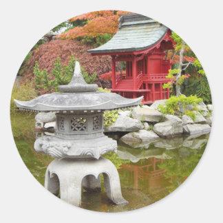 Oriental Garden Sticker