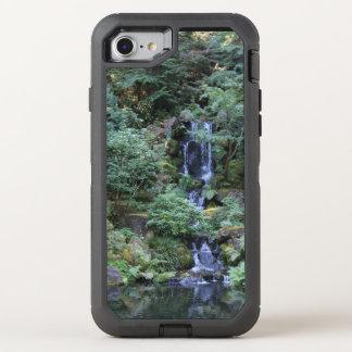 Oriental Garden Waterfall OtterBox Defender iPhone 7 Case