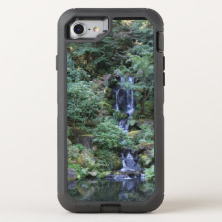 Oriental Garden Waterfall OtterBox Defender iPhone 8/7 Case