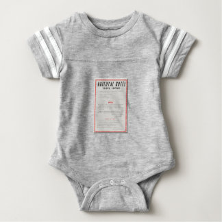 Oriental Hotel Rules Baby Bodysuit
