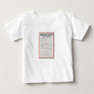 Oriental Hotel Rules Baby T-Shirt