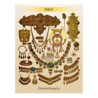 Oriental Jewelry Postcard