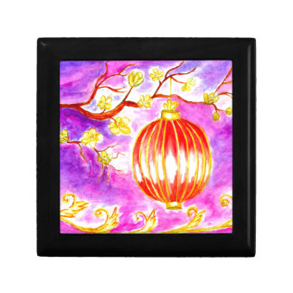 Oriental Lantern Art Gift Box