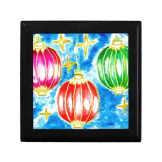 Oriental Lanterns Art Gift Box