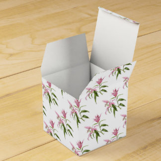 Oriental Lily - Stargazer Wedding Favour Box