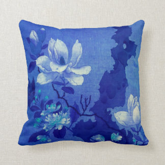 Oriental Magnolia #3 Cushion